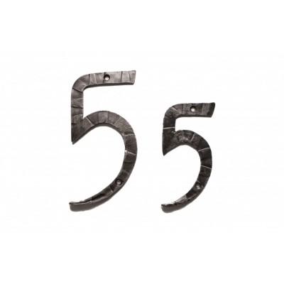 "Кованая цифра ""5"" 15 см"