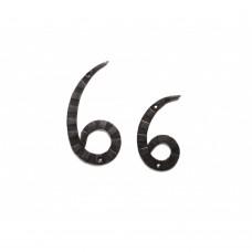 "Кованая цифра ""6"" 15 см"