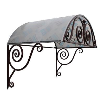 Козырек арочный (поликарбонат) (1530х1000х1270)