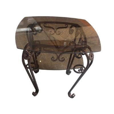 Стол журнальный СТЭЖ 7 (660х660х570) стекло 6мм
