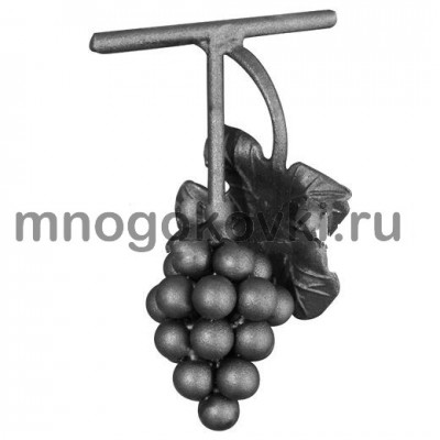 SK21.04 Виноград с листом