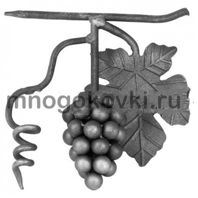 SK21.06 Виноград с листом