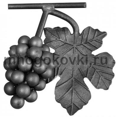 SK21.05 Виноград с листом