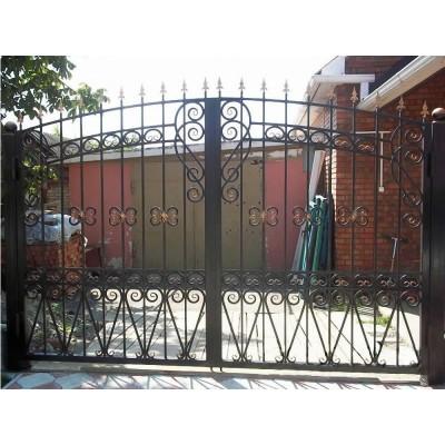 Ворота Узорные Премиум